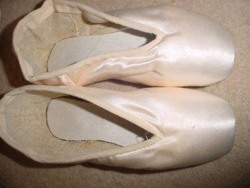 Bolshoi pointe shoes