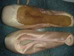 Diamar pointe shoes