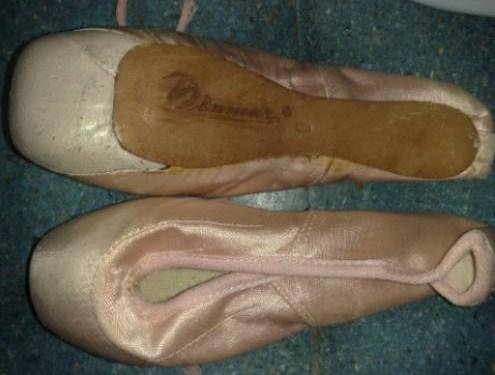 Diamar pointe shoes