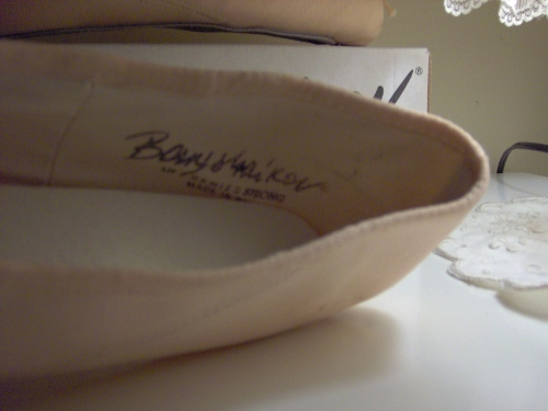 Baryshnikov Canvas pointe shoe