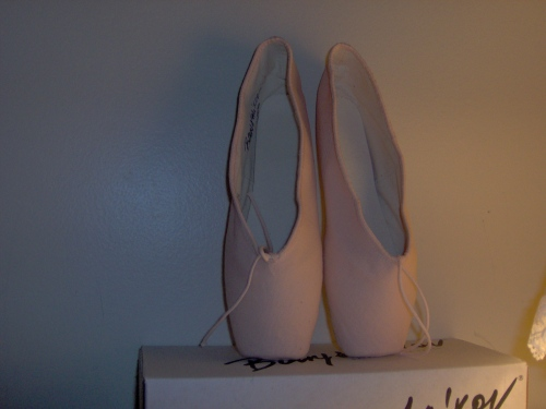 Baryshnikov Canvas pointe shoes