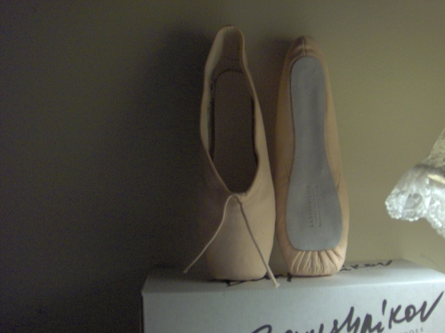 Baryshnikov pointe shoes
