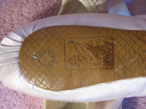 Kiev pointe shoe sole