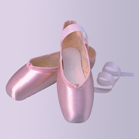 Ting Satin pointe shoes from China