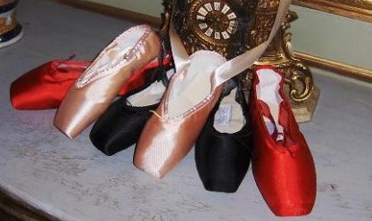 DeVarona pointe shoes made in Mexico