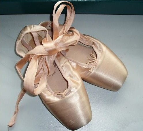 Dennis Reeve pointe shoes