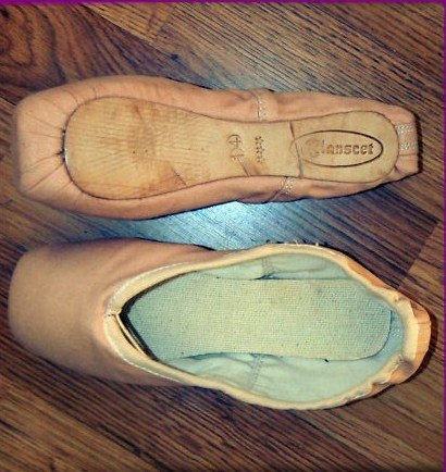 Blanscet pointe shoes in canvas