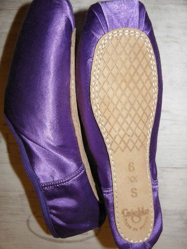 Grishko Pointe Shoes in purple