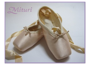 Mituri Pointe Shoes from South Korea