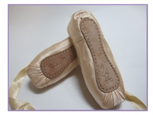 Mituri pointe shoe sole design