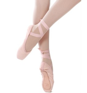 Dttrol Canvas Pointe Shoes for practice