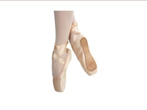 Dttrol pointe shoes in satin