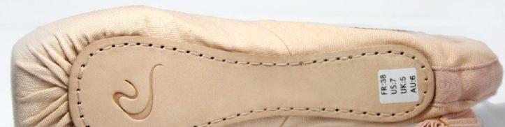 Dttrol pointe shoe sole logo
