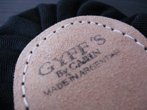 Ballet slippers from Gyffs of Argentina