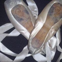 Zapatillas de punta ballet Fouette