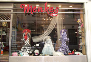 Menkes storefront, Madrid, Spain