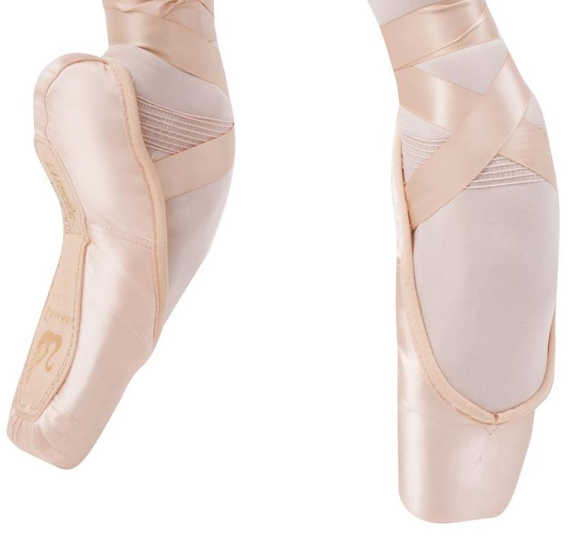 American or UK NEW Sansha Soft-Toe Shankless Ballet Demi-Pointe Shoes Pink