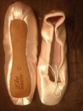 L'art Pirouette pointe shoes